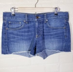 Lucky Brand high waisted denim shorts sz 28/,6